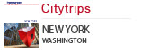 Citytrips New York, Washington, Miami, Boston, Chicago